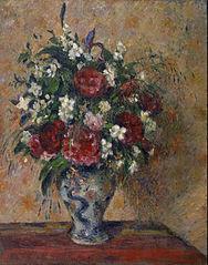 Flower Bouquet: Peonies and Mock-Orange