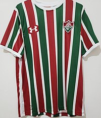 2709d7d9c Uniformes. Ver artigo principal  Uniformes do Fluminense Football Club