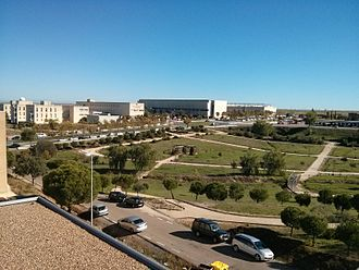 University of Extremadura - Partial view of Cáceres Campus