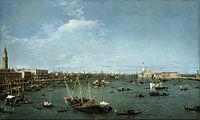 Canaletto (Giovanni Antonio Canal) - Bacino di San Marco, Venice - Google Art Project.jpg