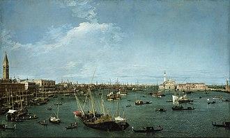 Henry Howard, 4th Earl of Carlisle - Giovanni Antonio Canal; Bacino di San Marco, Venice; Museum of Fine Arts, Boston; ca. 1738