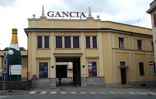 Gancia Italian vinery established in 1850