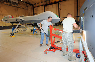 33rd Special Operations Squadron - MQ-9 Reaper maintenance at Cannon AFB