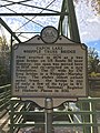 Capon Lake Whipple Truss Bridge Historical Marker Capon Lake WV 2014 10 05 01.jpg