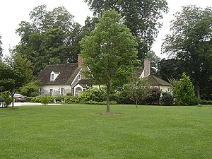 "Wye House - The ""Captain's House"" on Wye Plantation"