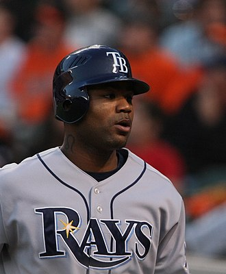 Carl Crawford - Crawford with the Tampa Bay Rays in 2009