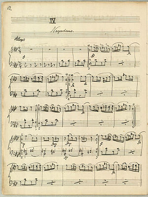 Aladdin (Nielsen) - Piano score for the Negro Dance from Carl Nielsen's Aladdin.