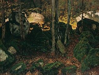Waldinneres bei Saut du Doubs