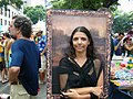 Carnival Rio Mona Lisa costume.jpg