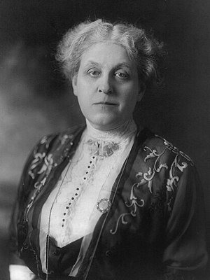 National American Woman Suffrage Association - Carrie Chapman Catt