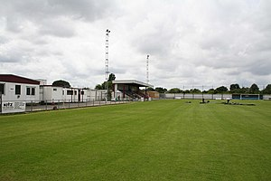 Carshalton Athletic F.C. - Colston Avenue photographed in 2007
