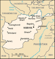 Description de l'image Carte de l'Afghanistan FR.png.