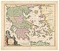 Cartografie in Nederland, kaart van Griekenland, NG-501-53.jpg