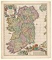 Cartografie in Nederland, kaart van Ierland, NG-501-38.jpg