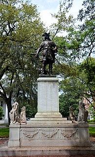 James Oglethorpe Monument Monument in Savannah, Georgia