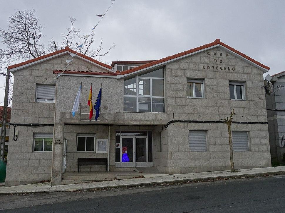 Casa concello, Os Blancos, Ourense