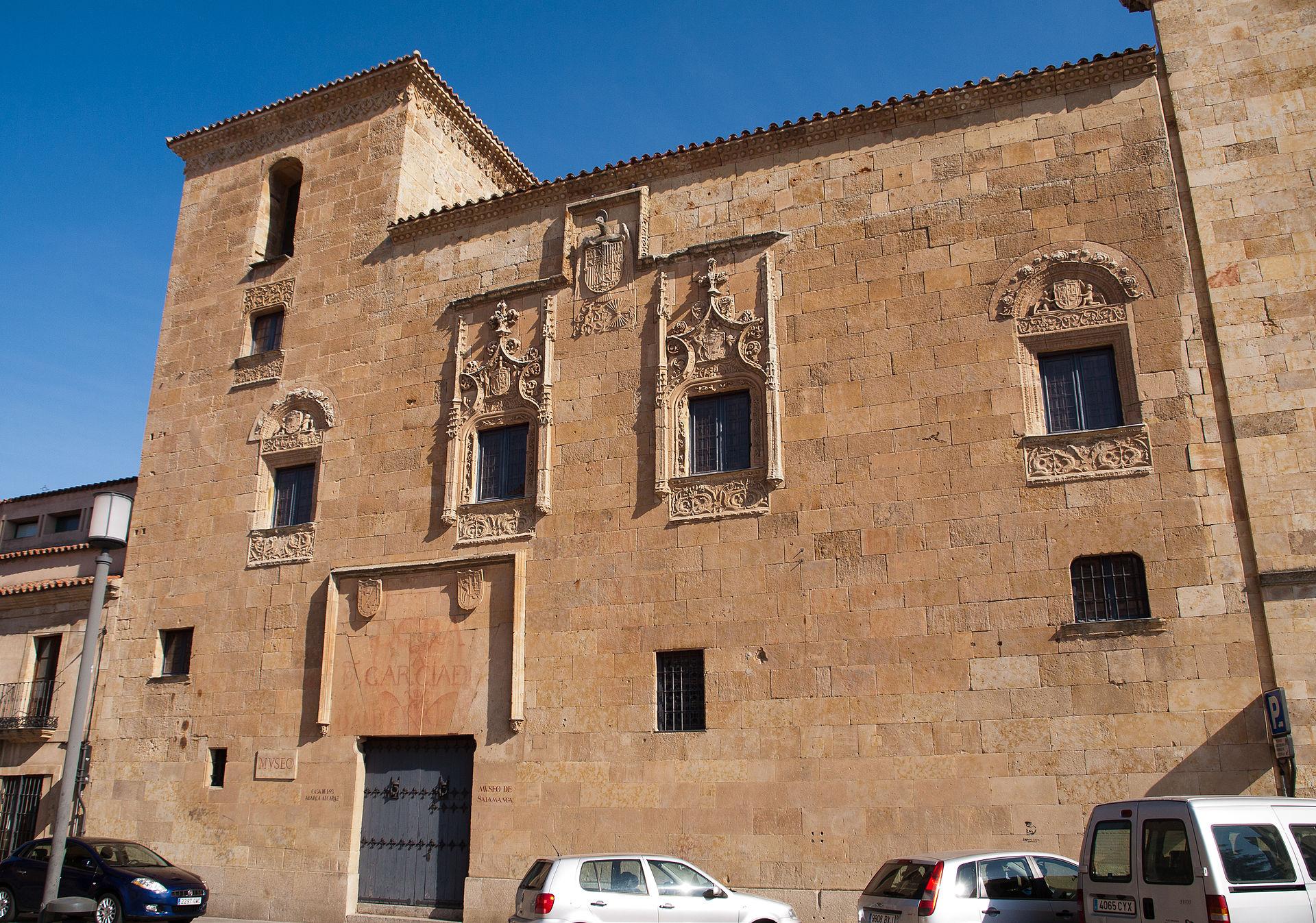 Casa de los abarca salamanca wikipedia la enciclopedia libre - Apartamentos turisticos casas de los reyes ...