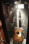 Casbah Coffee Club's guitar, often played by Lennon, Paul & Harrison ca.1959-1962 (The Beatles Story).jpg