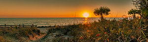 Manasota Key, Florida - Image: Caspersen Beach, Manasota Key, Florida