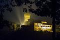 Castello di Levizzano Rangone visto da via Sapiana di notte ver2.jpg