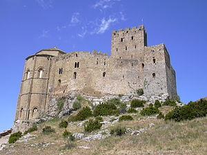 Español: Castillo de Loarre. Castillo de Loarr...