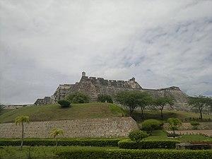 Melchor de Aguilera - Castillo de San Felipe de Barajas in Cartagena