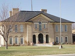 Castle Dale, Utah - Castle Dale's city hall