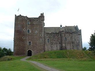 The Bonnie Earl O' Moray - Castle Doune, Moray's family seat in the late 16th century