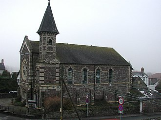 Castleton, Newport - Image: Castleton, Baptist Chapel geograph.org.uk 69764