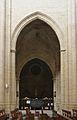 Catedral d'Osca, arc de la nau central.JPG