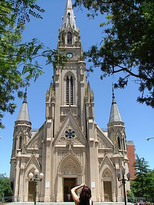 Mercedes, Buenos Aires - Image: Catedral de Mercedes Buenos Aires Argentina