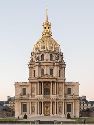 Resultado de imagen de IGLESIA DE LOS INVALIDOS PARIS. SIGLO XVII. MANSART.