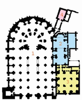 Purism (Spanish architecture) - Ground plan of the Cathedral of Granada.