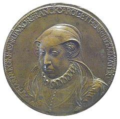 Portrait de la Catherine de Médicis