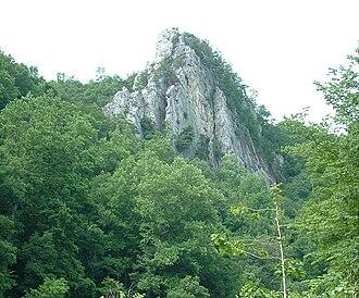 Hampshire County, West Virginia - Caudy's Castle