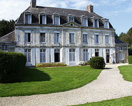 The chateau in Froberville