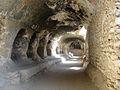 Cave system, stupa and monastery at Samangan.jpg