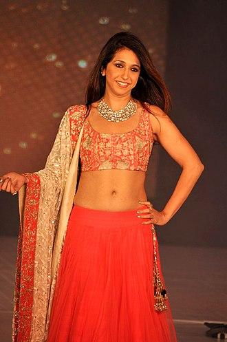 Lehenga - Image: Celebrities at Manish Malhotra Lilavati Save & Empower Girl Child show (12)