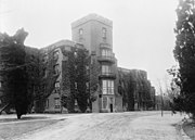 Center building at Saint Elizabeths, National Photo Company, circa 1909-1932