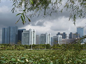 Dinghai District - Lincheng Sub-District of Dinghai District has been designated by the Zhoushan municipal government as the newly planned and developed center for the city as well as the current municipal seat.