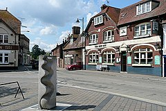 Centre of Fordingbridge - geograph.org.uk - 1525645.jpg