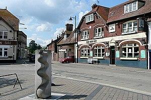 Fordingbridge - Image: Centre of Fordingbridge geograph.org.uk 1525645