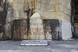 Monument des Maquis de l'Ain