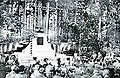 Ceremony at a monument to Takashima Shuhan 1922 photograph.jpg