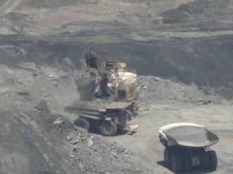 Cerrejón - Mining operations at one of Cerrejón pits