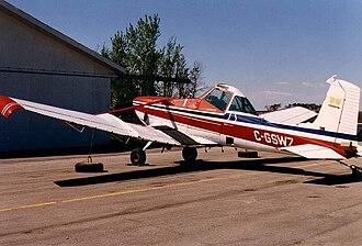 Cessna 188 - Image: Cessna A188BAGtruck C GSWZ