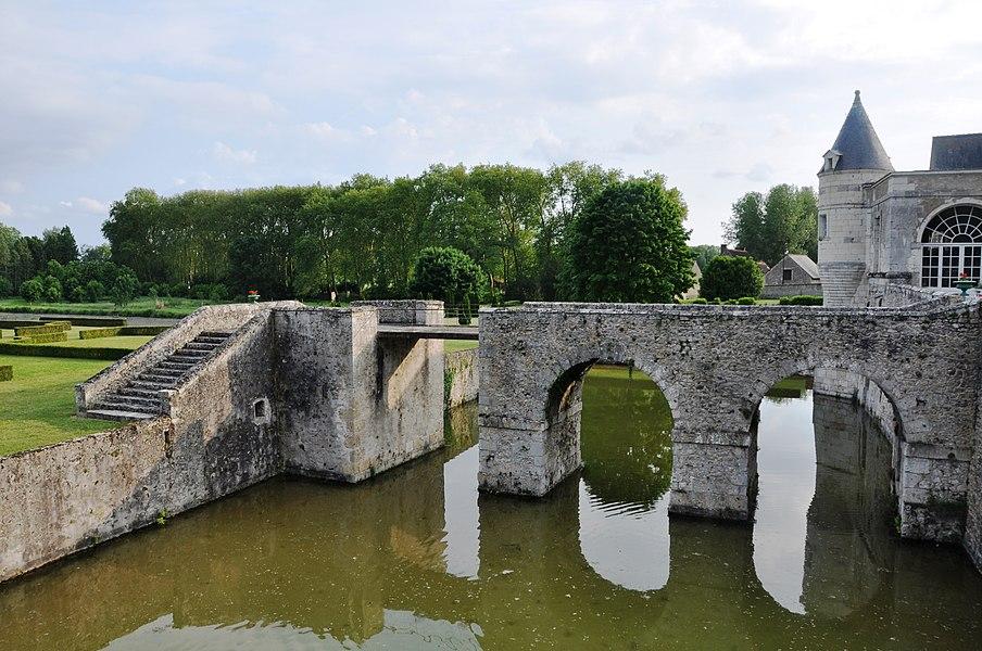 Douve Château de Saint Denis sur Loire