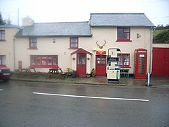 Challacombe Post Office and Telephone kiosk - geograph.org.uk - 629755.jpg