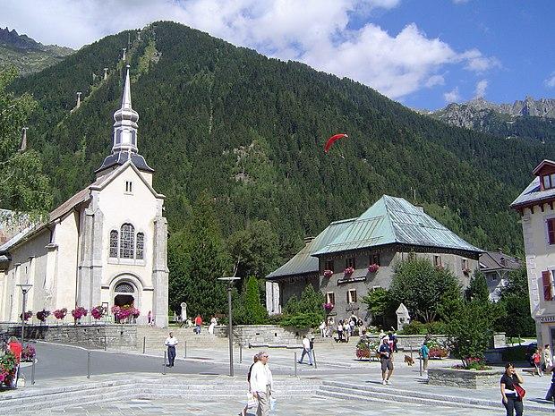 Monument historique à Chamonix-Mont-Blanc