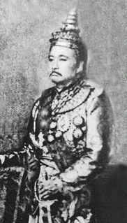 Chantharath King of Luang Phrabang